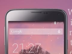 Winter Sunset Live Wallpaper 1.1 Screenshot