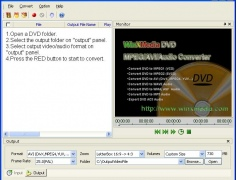 WinXMedia DVD MPEG/AVI/Audio Converter 4.35 Screenshot