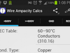 Wire Ampacity Pro 2.2 Screenshot