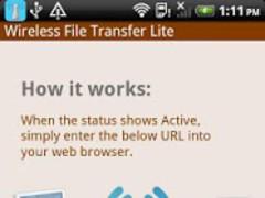 Wireless File Transfer Lite 0.4.2a Screenshot