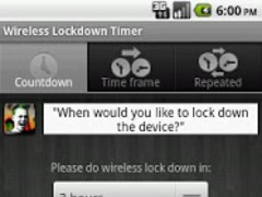Wireless Lockdown Timer 1.6 Screenshot