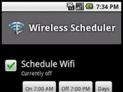 Wireless Scheduler Lite 1.3 Screenshot