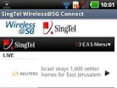 Wireless@SG SingTel 1.0 Screenshot