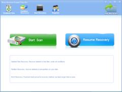 Wise Restore Erased Files 2.7.6 Screenshot