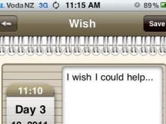 Wish Journal 1.0 Screenshot