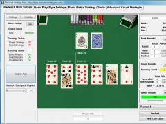 With Blackjack Strategy Pro!'s Basic Blackjack Strategy You Will be Winning More Consistently 9.0 Screenshot