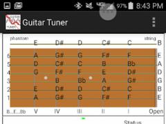 WithStrings Guitar Tuner 1.51 Screenshot