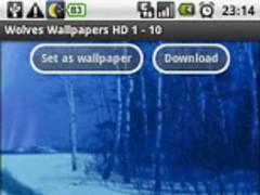 Wolves Wallpapers HD 0.7 Screenshot