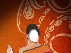 Woman Saree Photo Selfie Booth 1.1 Screenshot
