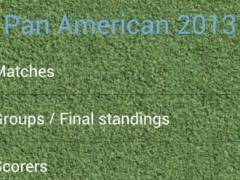 Women's Pan American Cup 2013 1.0.8 Screenshot