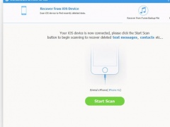 Wondershare iPhone Data Recovery 7.0.1 Screenshot