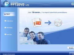 Wondershare PPT2DVD Lite for Christmas 6.0.3 Screenshot