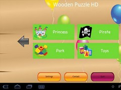 Wooden Puzzle HD for Tab 1.0.2 Screenshot