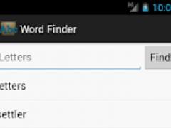 Word Finder - Anagram Solver 1.0.2 Screenshot