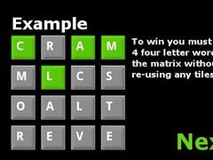 Word Matrix 1.2 Screenshot