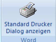 Word Print Buttons 4.1 Screenshot