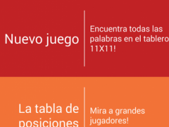 Word Search Spanish 1.1 Screenshot