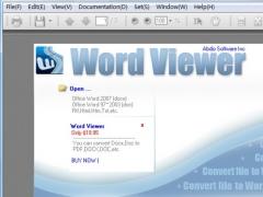 Word Viewer 6.7 Screenshot