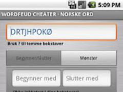 Wordfeud Cheater - Norske Ord 1.11 Screenshot