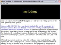 WordFlashReader 1.0r Screenshot