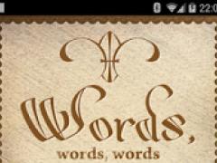 Words, words, words! 2.6.1 Screenshot