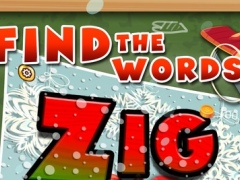 Words Zigzag : Merry Christmas ( X'Mas ) Crossword Puzzle Free with Friends 1.0 Screenshot