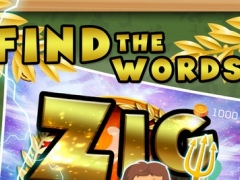 Words Zigzag Search Puzzle Pro for Greek Mytholog 1.0 Screenshot