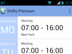 Work Calendar Shifty Pro 1.2.8 Screenshot
