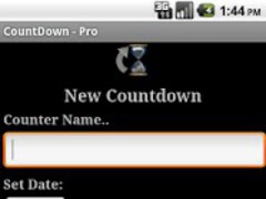 Work CountDown - Donate 2.5 Screenshot