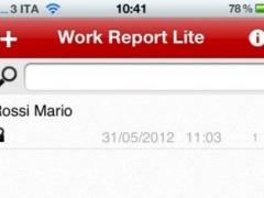 Work Report Pro 1.2 Screenshot