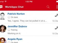 WorkApps Chat 1.2.3 Screenshot