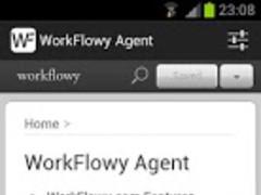 WorkFlowy Agent Pro 3.7 Screenshot