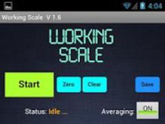Working Scale 3.2 Screenshot