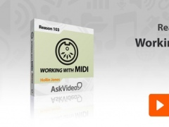 Working With MIDI Course For Reason 2.1.0 Screenshot