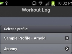 Workout Log Basic 1.3.2 Screenshot