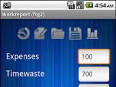WorkReport 1.0.5 Screenshot