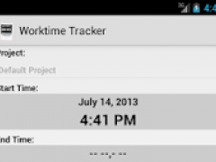 Worktime Tracker RD 0.4.9 Screenshot