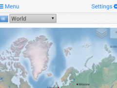 World atlas & map MxGeo Pro 4.2.1 Screenshot