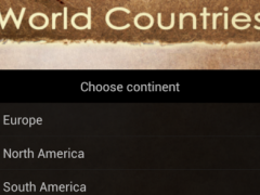 World Capitals and Countries 1.1.0 Screenshot