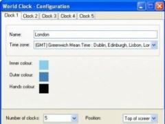 World Clock for Windows 1.5.2.0 Screenshot