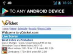 World Cricket Live Score 1.4 Screenshot
