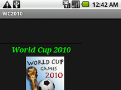 World Cup 2010 Easy Access 1.0 Screenshot