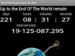 World Final Countdown 1.0 Screenshot