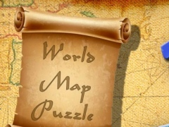 World Map Jigsaw Puzzle 1.5 Screenshot
