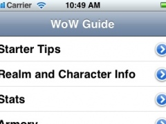 World of Warcraft Game Guide - FREE 1.0 Screenshot