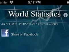 World Population Statistics 1.3 Screenshot