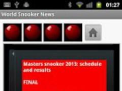 World Snooker News 2013 24.0 Screenshot