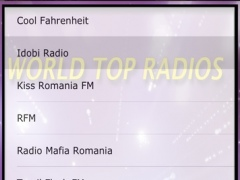 World Top Radios 2.0 Screenshot