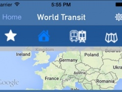 World Transit - Metro and bus Routes & Schedules 4.1 Screenshot