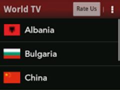 World TV - Movie Music Sports 1.2 Screenshot